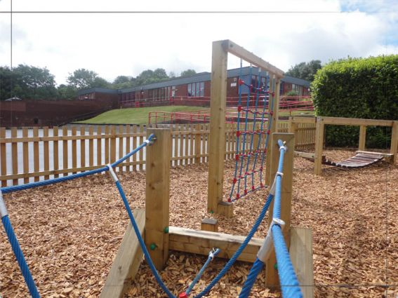 Backyard Playground Surface : Outdoor Playgrounds and Child Safety ? Vigorous Times