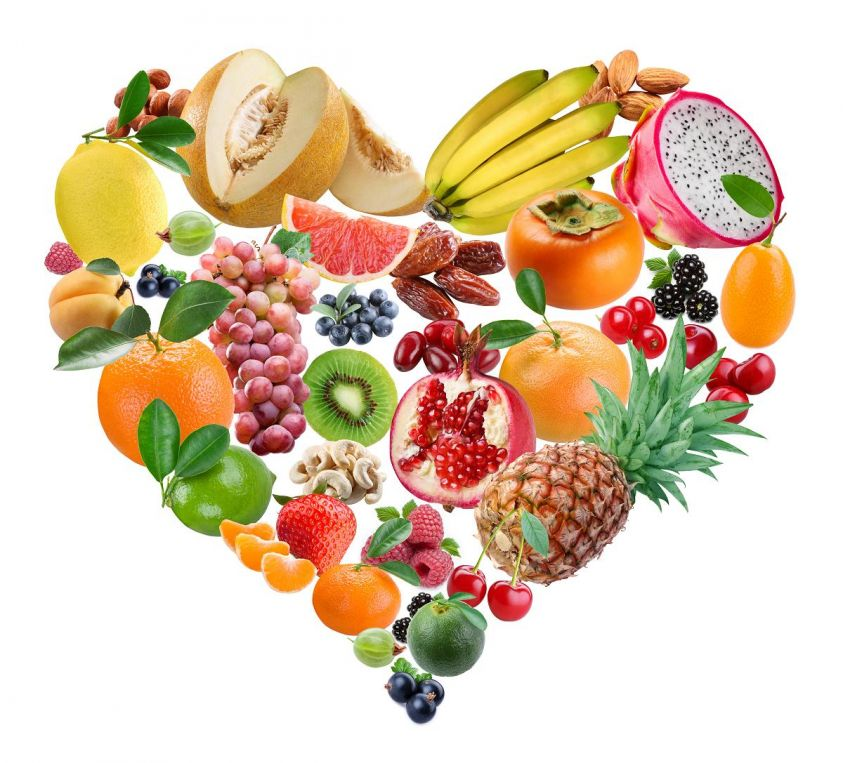 healthy eating fruit vegetables heart